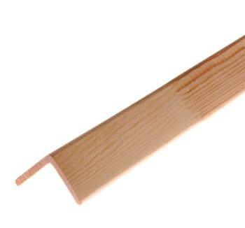 Уголок (хвоя) клееный, без сучков 25*25*3000 мм.