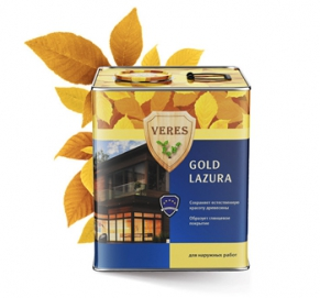 Верес GOLD (№19___Дуб) 10,0_литров