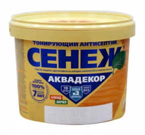 Сенеж Аквадекор Безцветный____№102  2,5 кг.