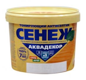 Сенеж Аквадекор Лиственница__№104  2,5 кг.