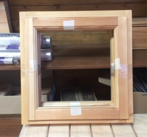 Окно для бани 400*600 мм.
