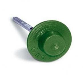 Гвозди для ондулина (цвет_зеленый, 100шт/упак.)