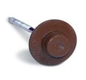 Гвозди для ондулина (цвет_коричневый, 100шт/упак.)